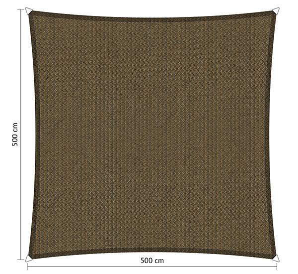 Zonnedoeken vierkant500x500cm Shadow comfort