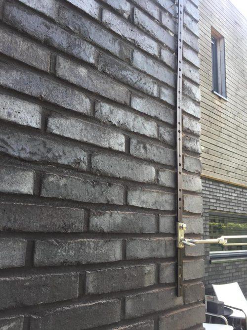 geleiderails zwart